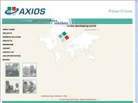 Corporate Website - Axios International