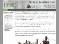 NGO Website - Refugee Education Trust