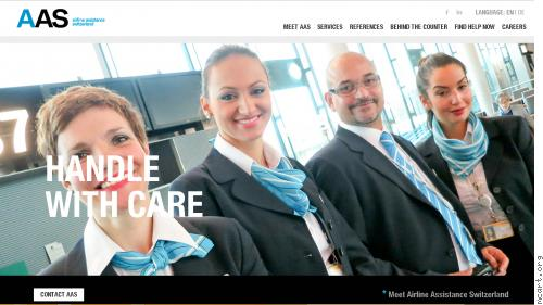 Corporate Identity - Airline Assistance Switzerland