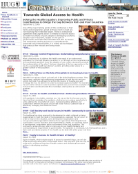 Online News - Geneva Health Forum